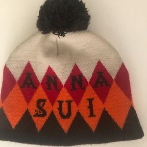 ANNA SUI KNIT HAT
